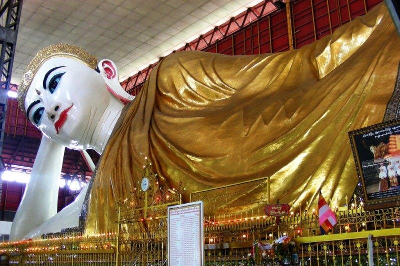 Chùa Phật nằm Chaukhtatgyi