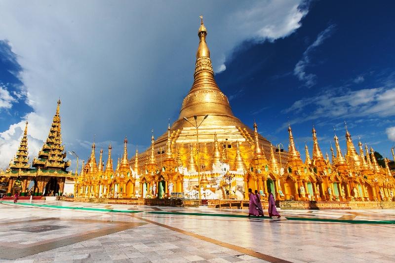 Chùa vàng Shwedagon - biểu tượng của đất nước Myanmar