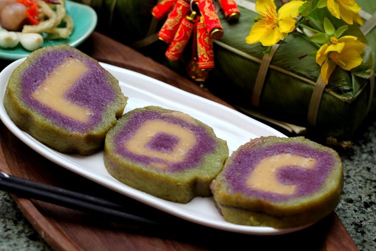 Bánh tét chữ độc đáo của ẩm thực phương Nam
