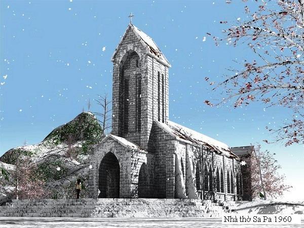 nhà thờ sa pa